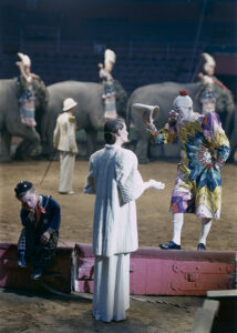 Wenda Parkinson and Pierrot