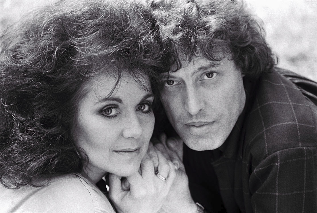 NP_PE_TMS001 : Tom and Miriam Stoppard - Iconic Images