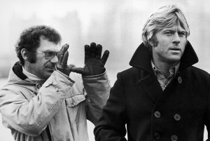 Robert Redford and Sidney Pollack