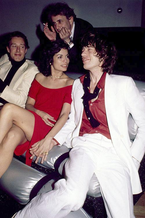 Rp Studio006 Mick Amp Bianca Jagger Iconic Images