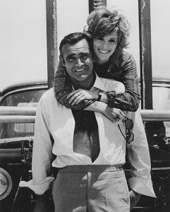 Sean Connery as Bond with Jill St John