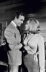 Honor Blackman and Sean Connery