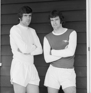 Norman Hunter and Peter Simpson