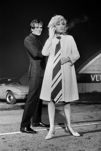 Terence Stamp and Monica Vitti
