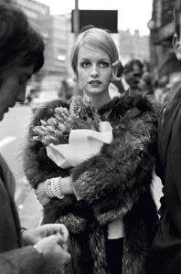 Twiggy with flowers