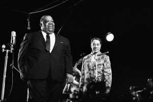 Jimmy Rushing and Duke Ellington