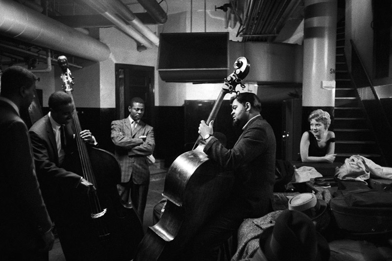 Al McKibbon, Armando Peraza, Helen Merrill and Ray Brown