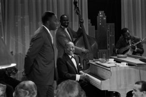 Joe Williams, Count Basie and Fred Guy
