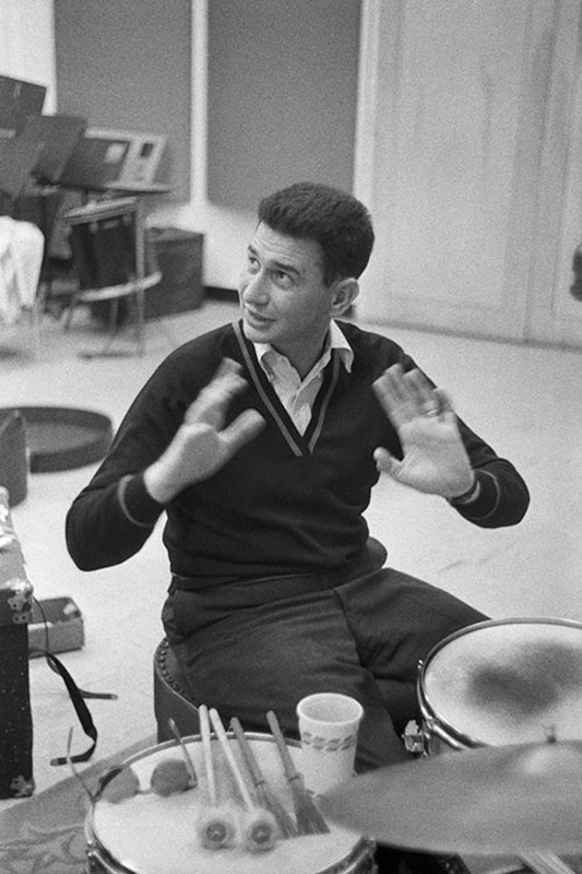TW_SM003 : Shelly Manne - Iconic Images