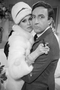 Ursula Andress and Peter Sellers