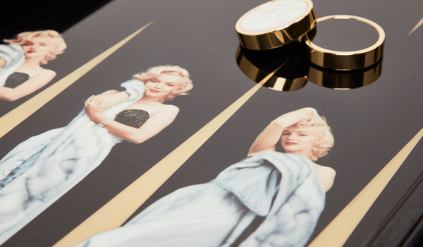 Backgammon Board – Marilyn Monroe by Milton Greene