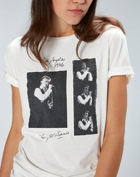 Terry O'Neill – 1976, Station to Station T-Shirt